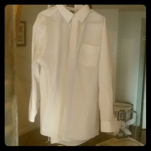 Stafford Performance White Super Shirt